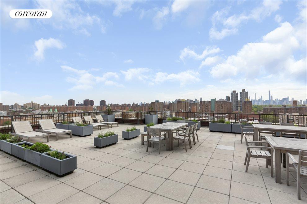 Massive furnished roof terrace