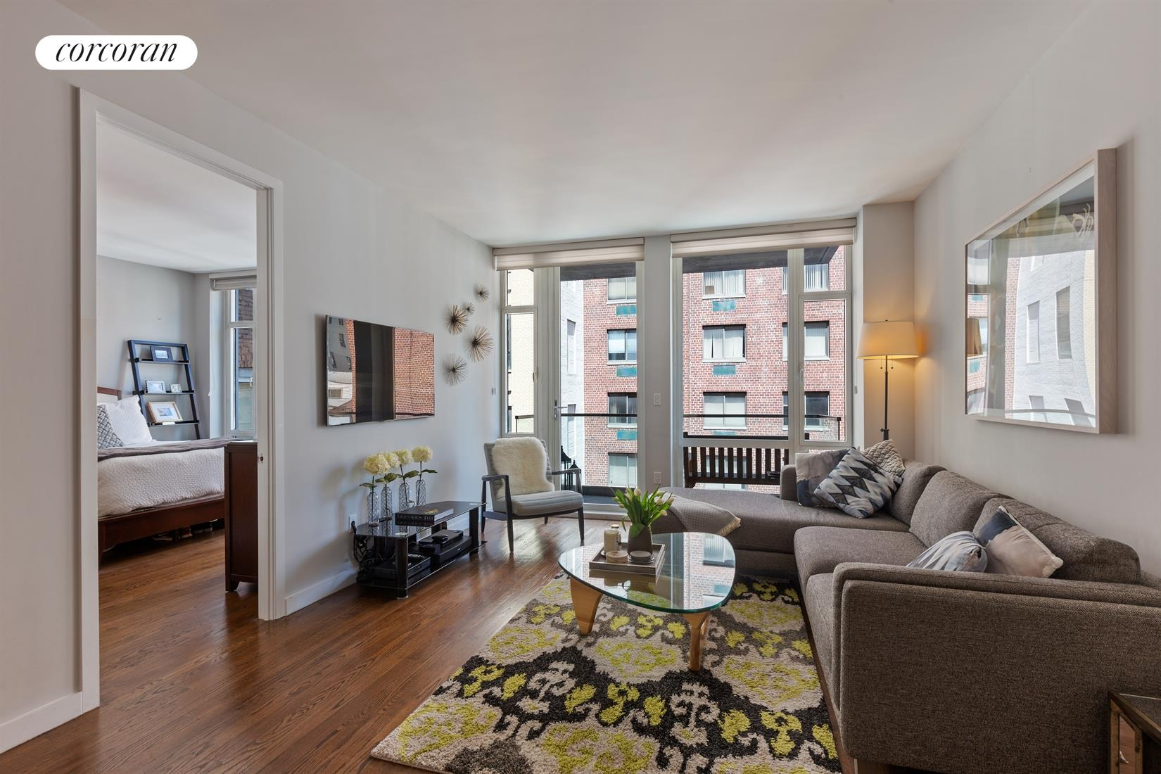 133 West 22nd Street, 8F, Living Room