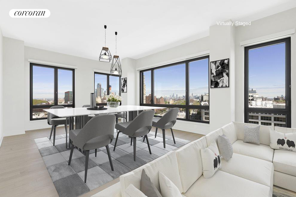 New York City Real Estate | View 550 Vanderbilt Avenue, #1008 | 2 Beds, 2.5 Baths