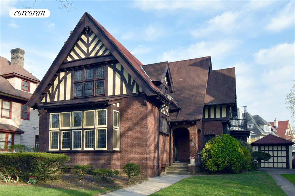 Historic District Tudor with detached garage