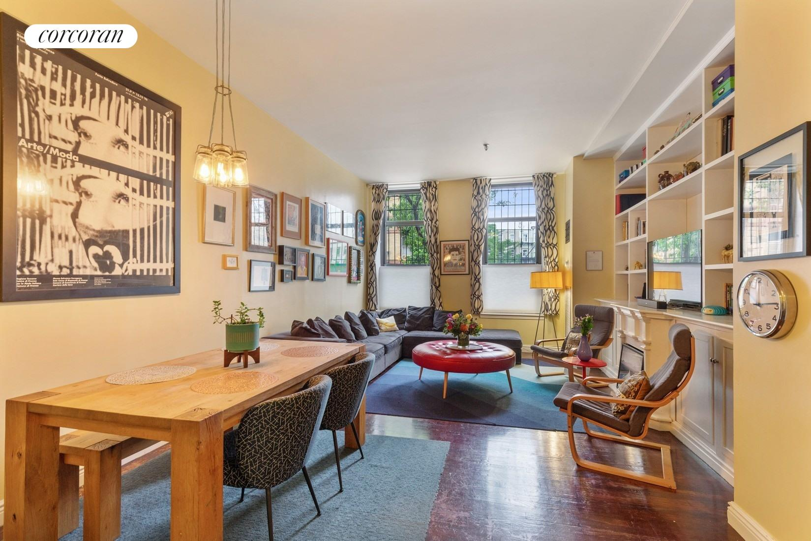 1 Tiffany Place, 1H, Massive Living Room