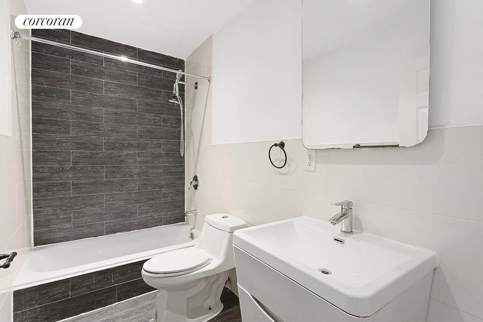 Refined, modern bathrooms!