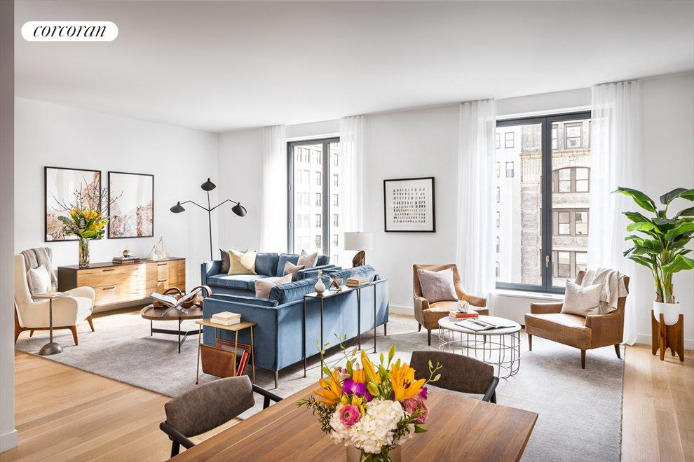 New York City Real Estate | View 21 East 12th Street, #15C | 2 Beds, 2.5 Baths