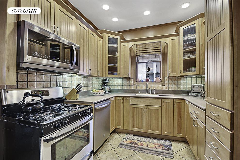 Cabinets with surprises throughout