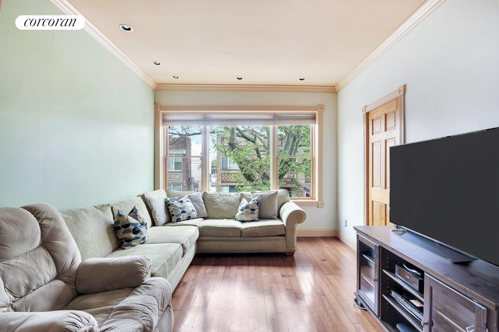 A 3rd bedroom off the bright living room