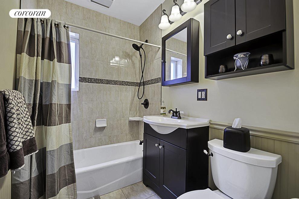Renovated bathroom and plumbing