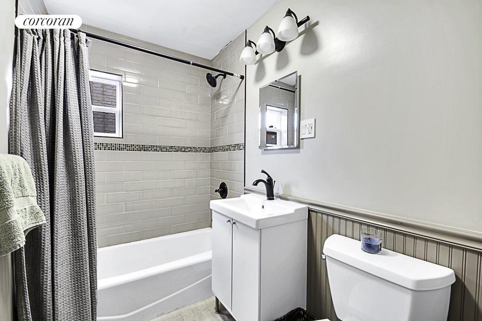 Both bathrooms where renovated