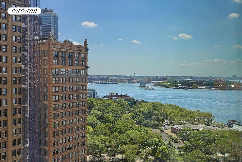 New York City Real Estate | View 30 West Street, #22C | View Southeast