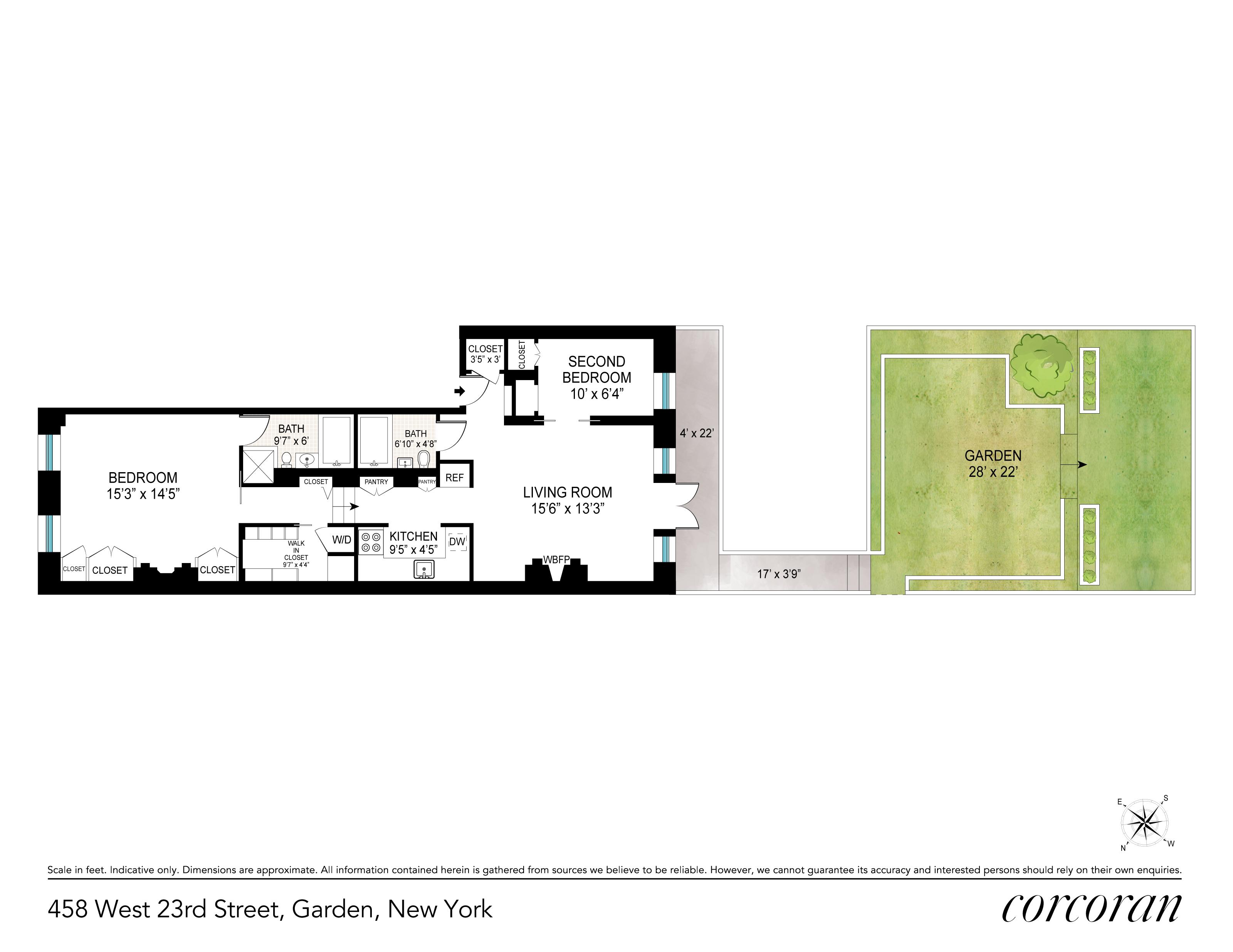 458 West 23rd Street Chelsea New York NY 10011