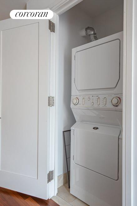 New York City Real Estate | View 30 West Street, #22C | Laundry Room