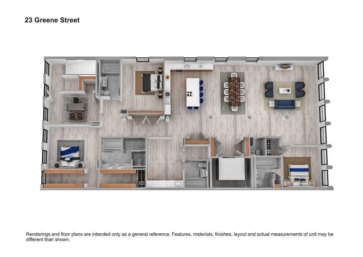 23 Greene Street, Soho, New York