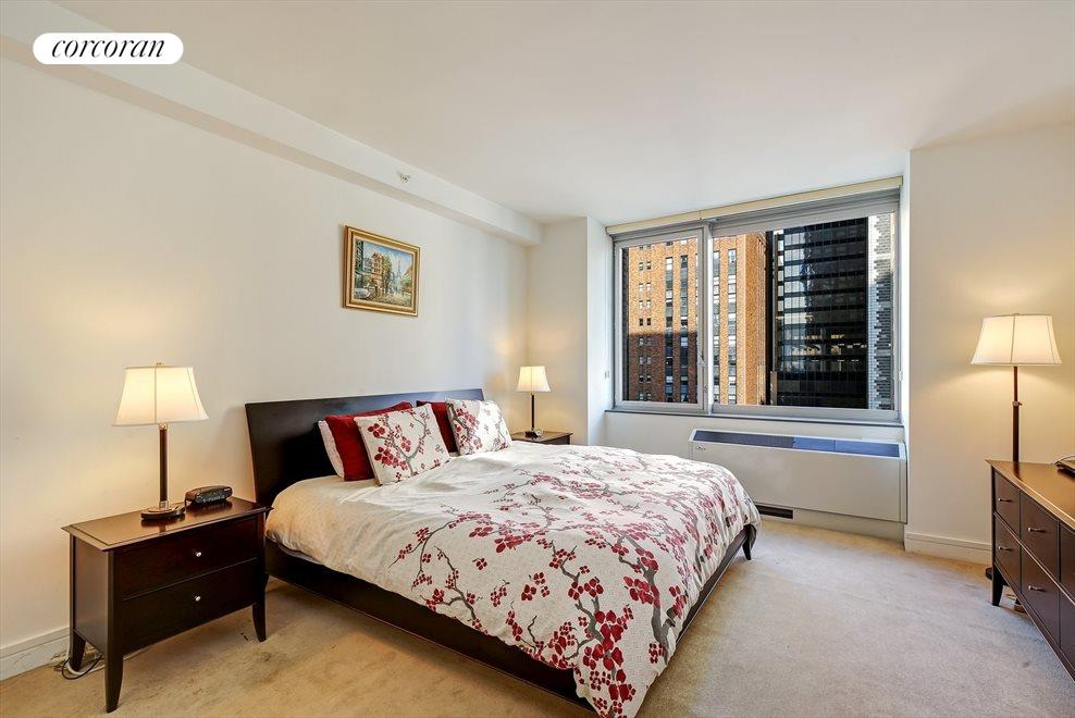 New York City Real Estate | View 30 West Street, #22C | Spacious Master Bedroom