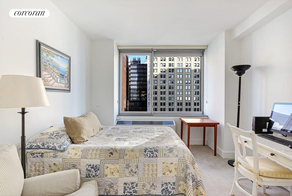 New York City Real Estate | View 30 West Street, #22C | 2nd Bedroom