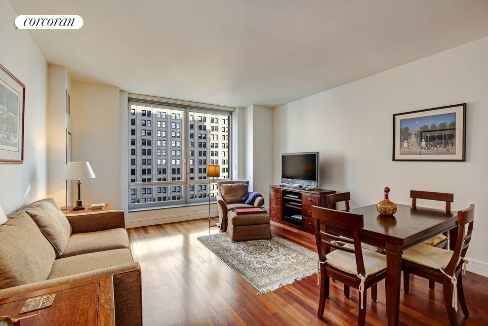New York City Real Estate | View 30 West Street, #22C | 2 Beds, 2 Baths