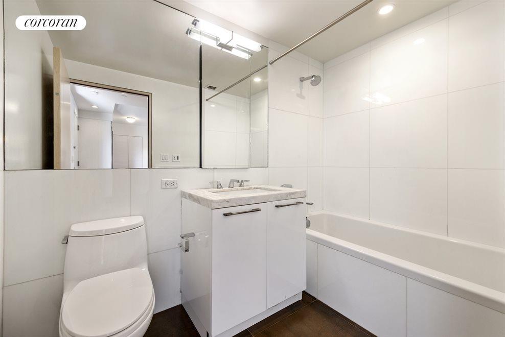 Radiant Heating Floor and Soaking Tub!