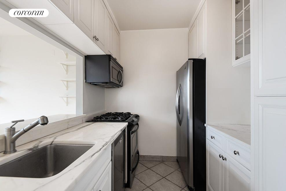 Renovated Kitchen with Pass-Through