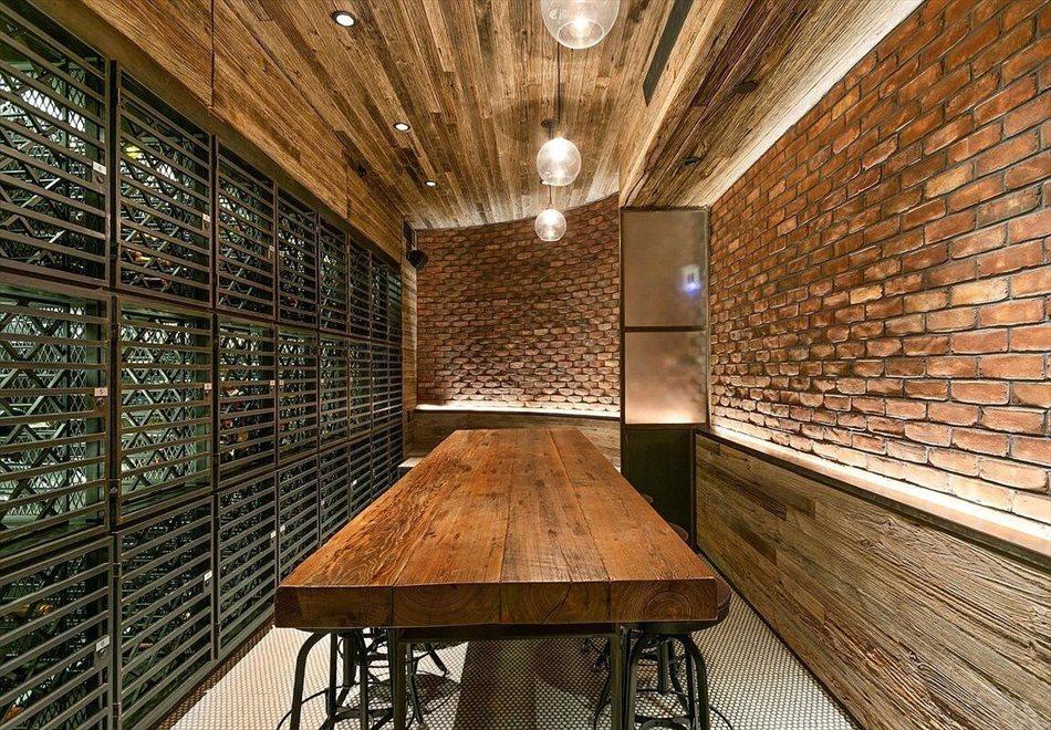 Wine Storage and Tasting Room