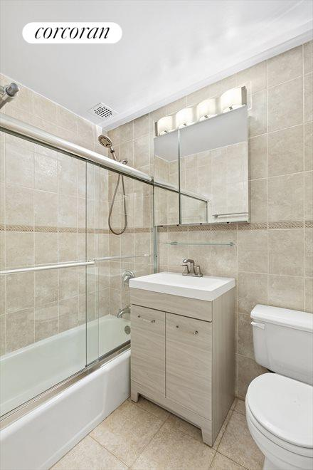 Neutral Renovated Bathroom