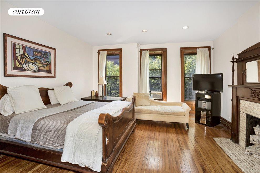 Duplex master bedroom