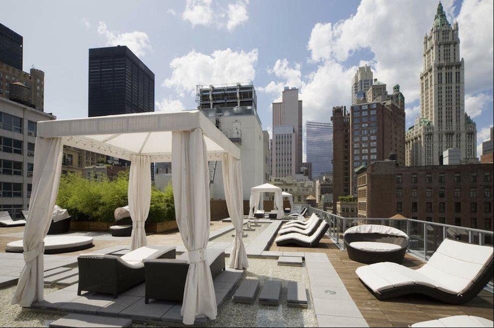 Public Roof Deck!