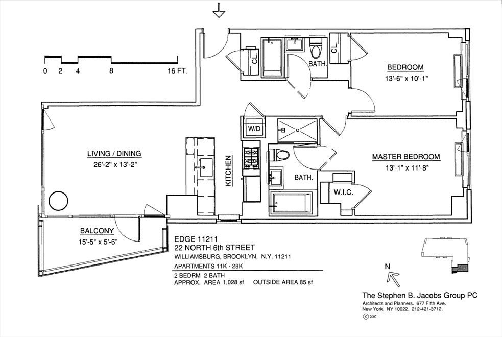 New York City Real Estate | View 22 North 6th Street, #21K | Floorplan