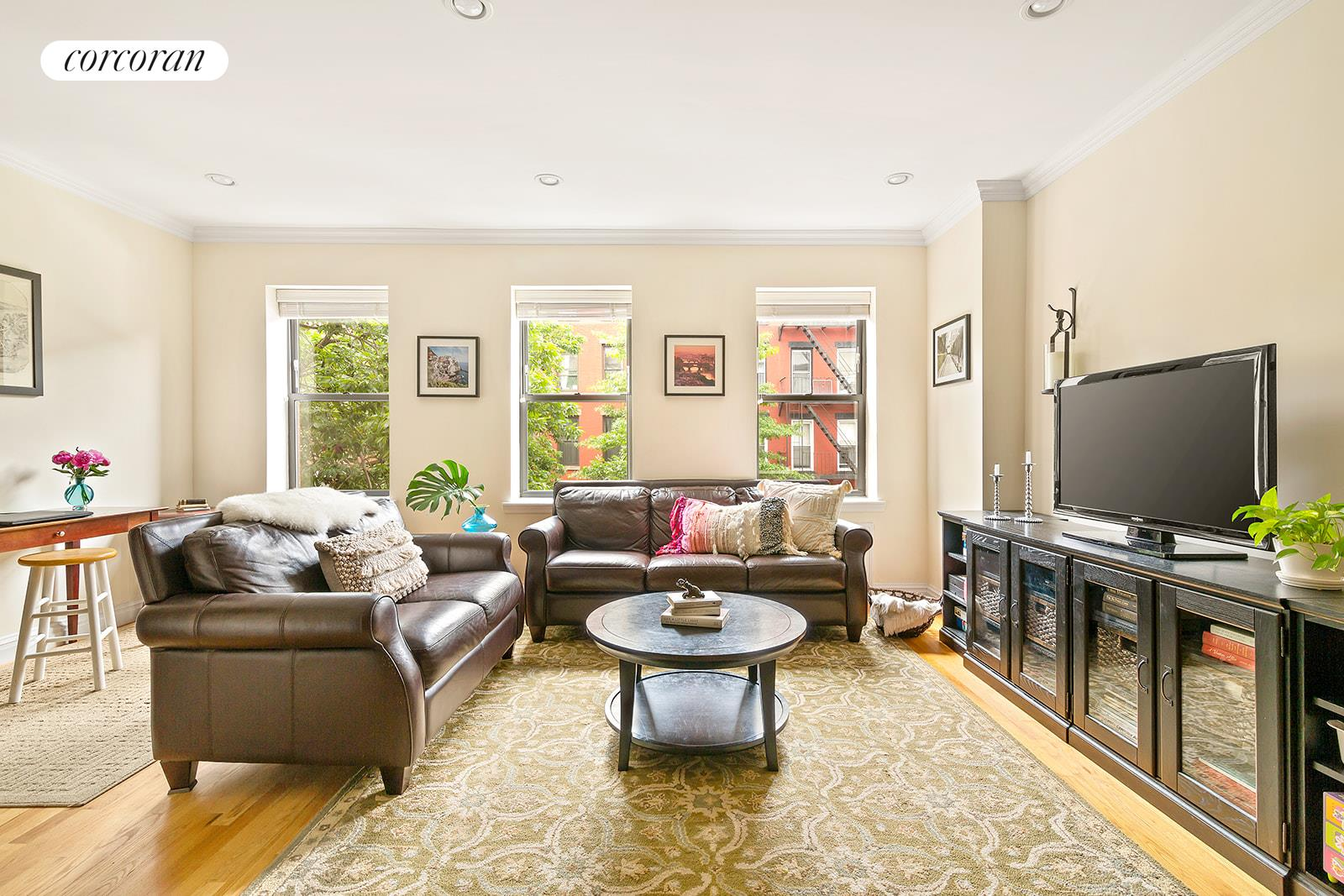 691 Sackett Street, 2, Living Room with Home Office