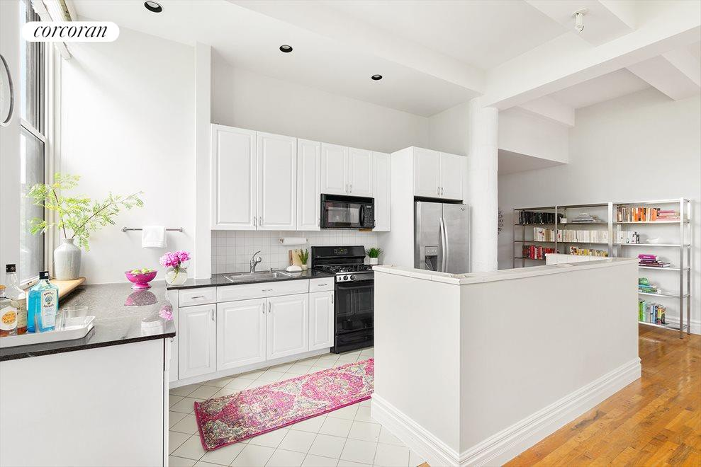 Windowed Open plan Kitchen