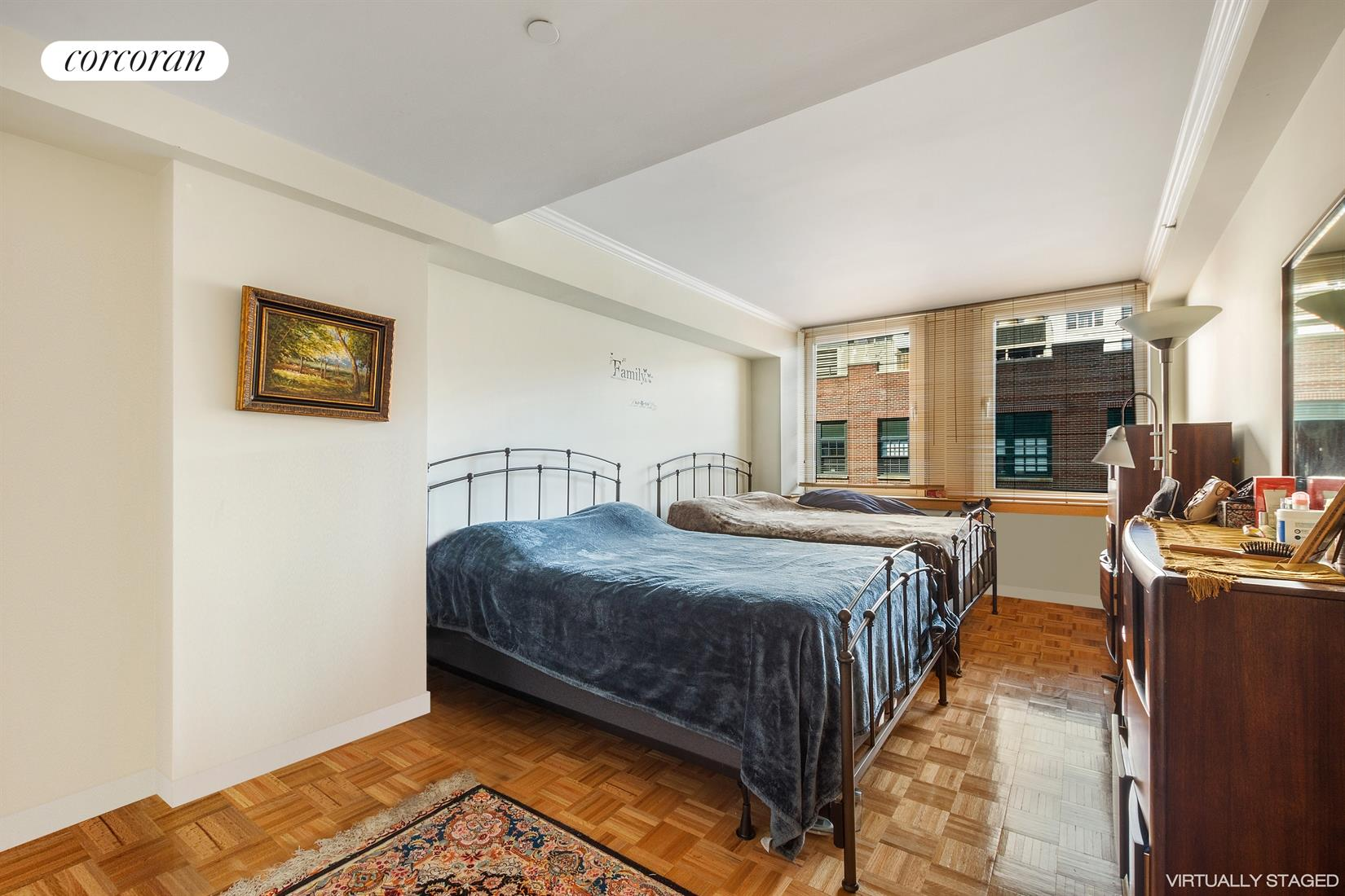 404 East 76th Street, 6I, Spacious Living Room with Dining Area