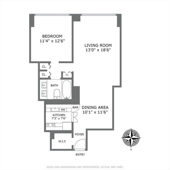 New York City Real Estate | View East 57th Street | Floorplan 2