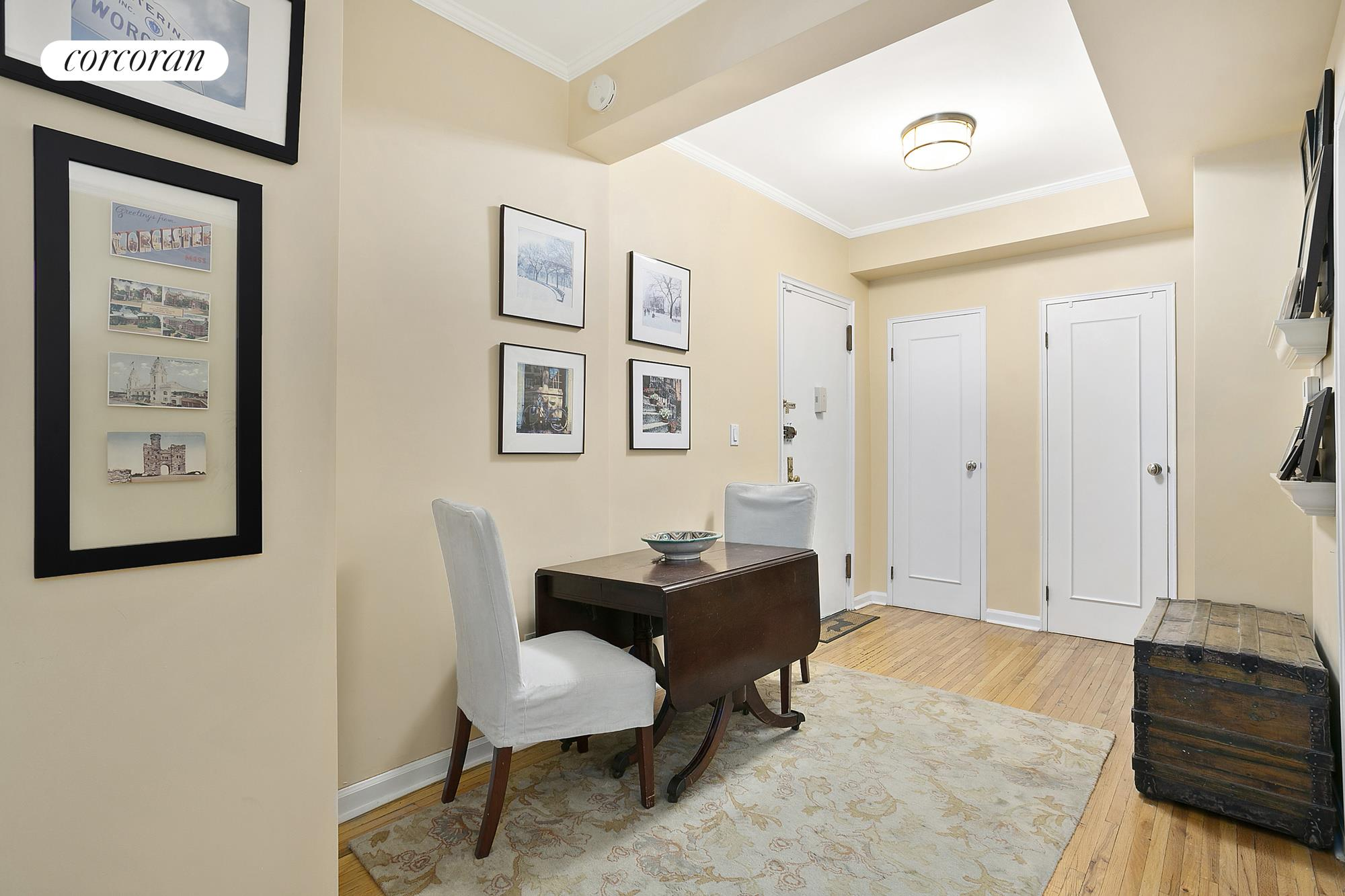 166 West 76th Street, F, Living Room