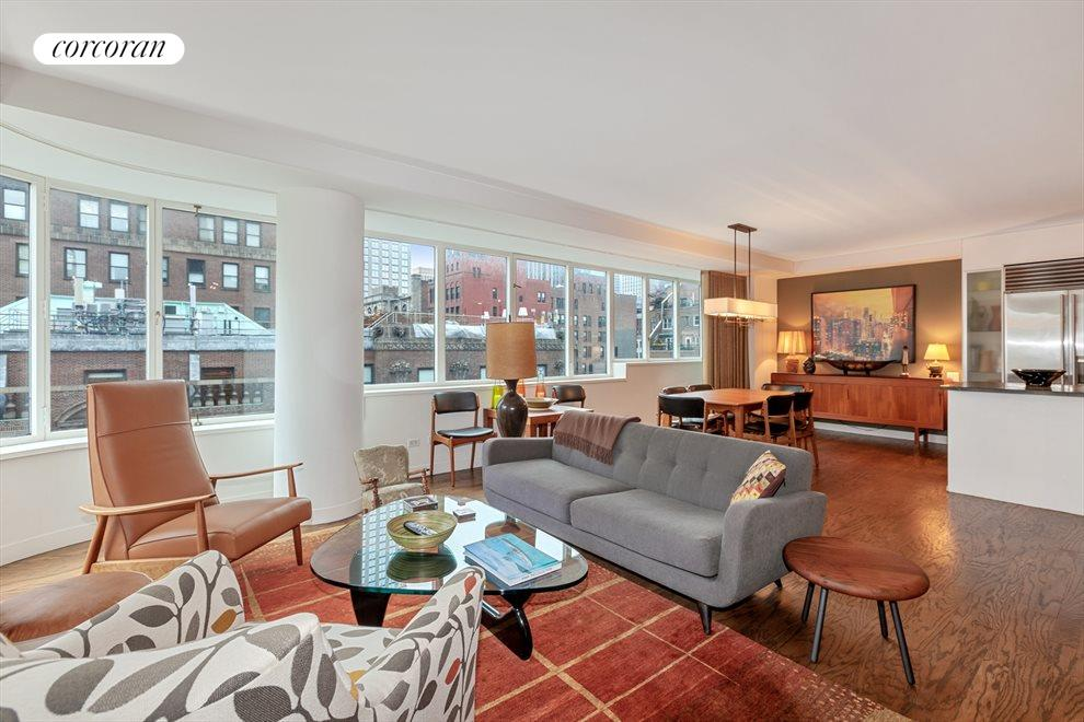 New York City Real Estate | View 211 Madison Avenue, #14B | Living Room