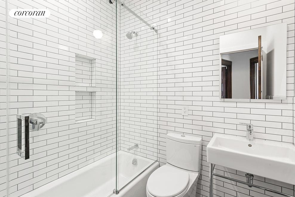 Beautiful Renovated Bathroom