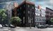 242 Pacific Street, North and west facades - rendering