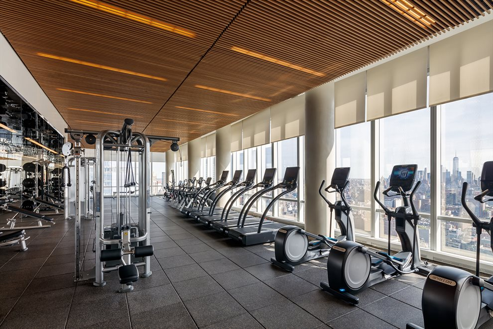 New York City Real Estate | View 15 Hudson Yards, #71E | 3,500 SF Fitness Center by The Wright Fit