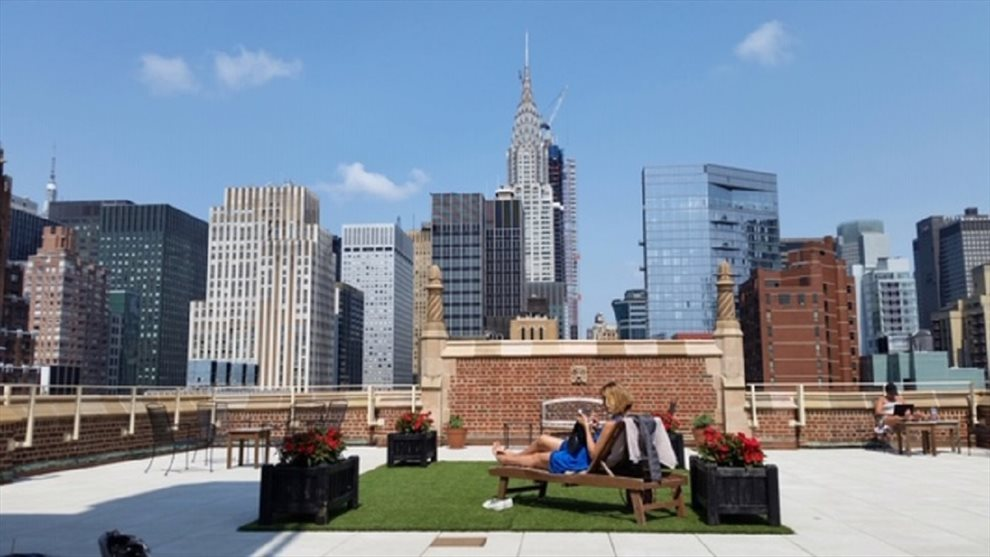New York City Real Estate | View 45 Tudor City Place, #305 | Rooftop