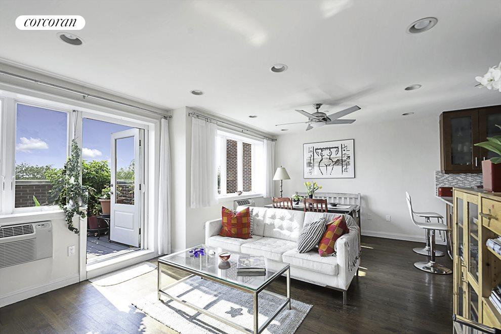 Access to your own spacious terrace