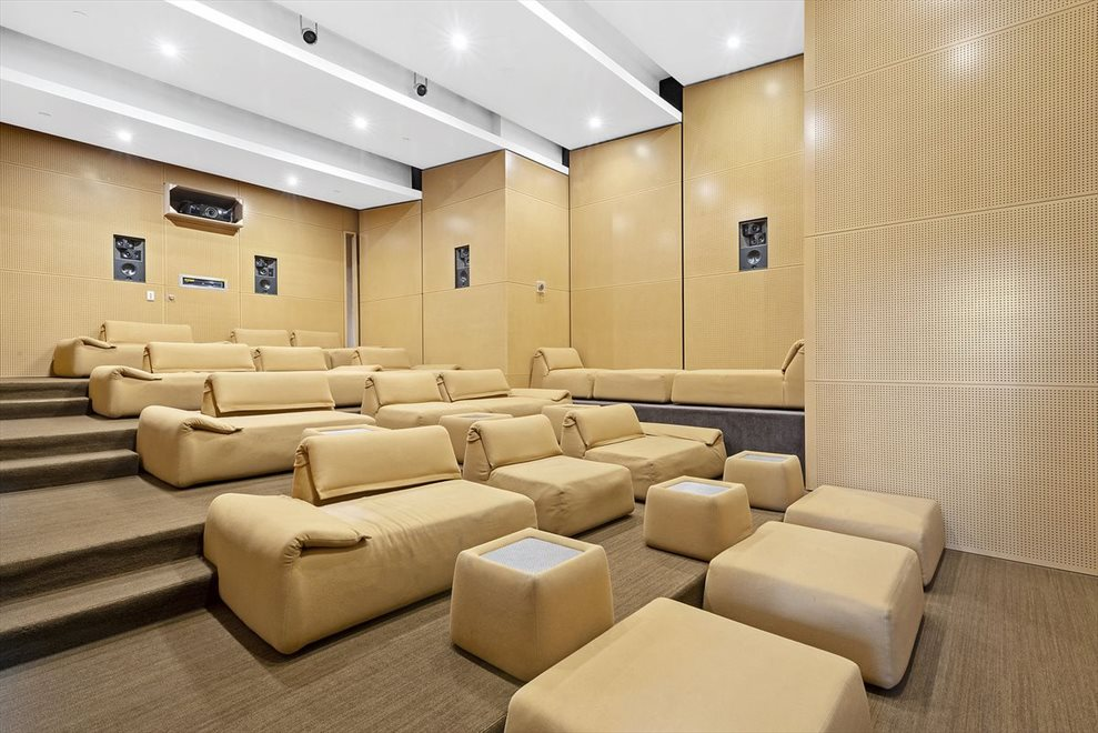 45 seat cinema screening room