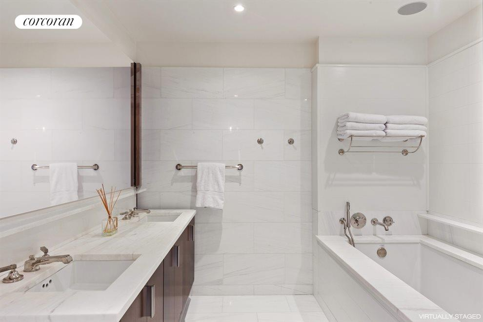 Master Bath- Zuma soaking tub and separate shower