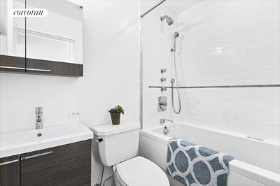 New York City Real Estate | View 96 Schermerhorn Street, #8D | Bath with Neptune whirlpool soaking tub
