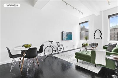New York City Real Estate | View 96 Schermerhorn Street, #8D | New ebony finished hardwood floors