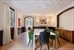 35 East 68th Street, 3/4, Huge Dining Room with Wood Burning Fireplace
