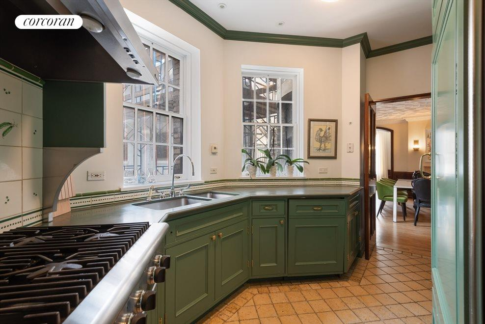 Large Windowed Chef's Kitchen