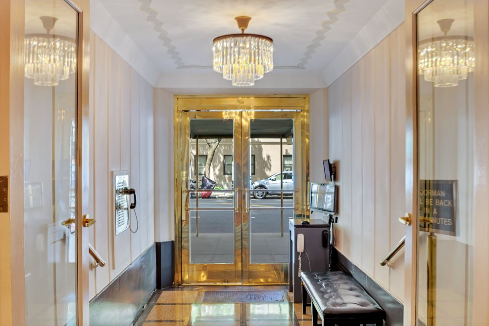Elegant entrance to lobby