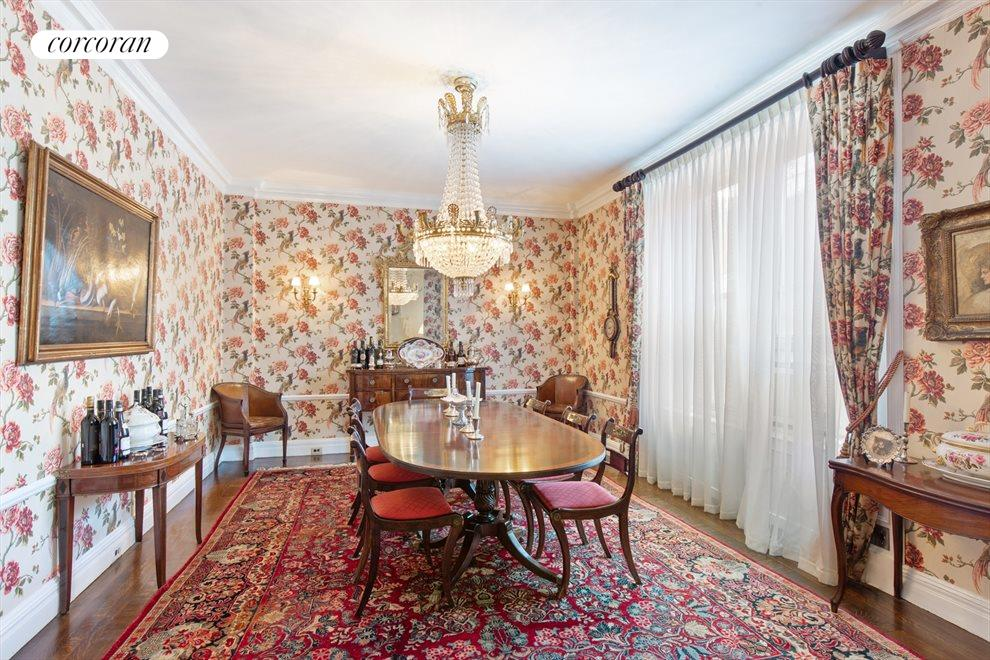 New York City Real Estate | View 955 Park Avenue, #7E | Dining Room
