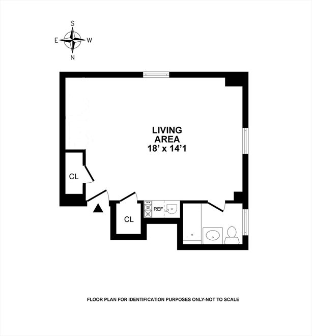 New York City Real Estate | View 45 Tudor City Place, #305 | Floorplan