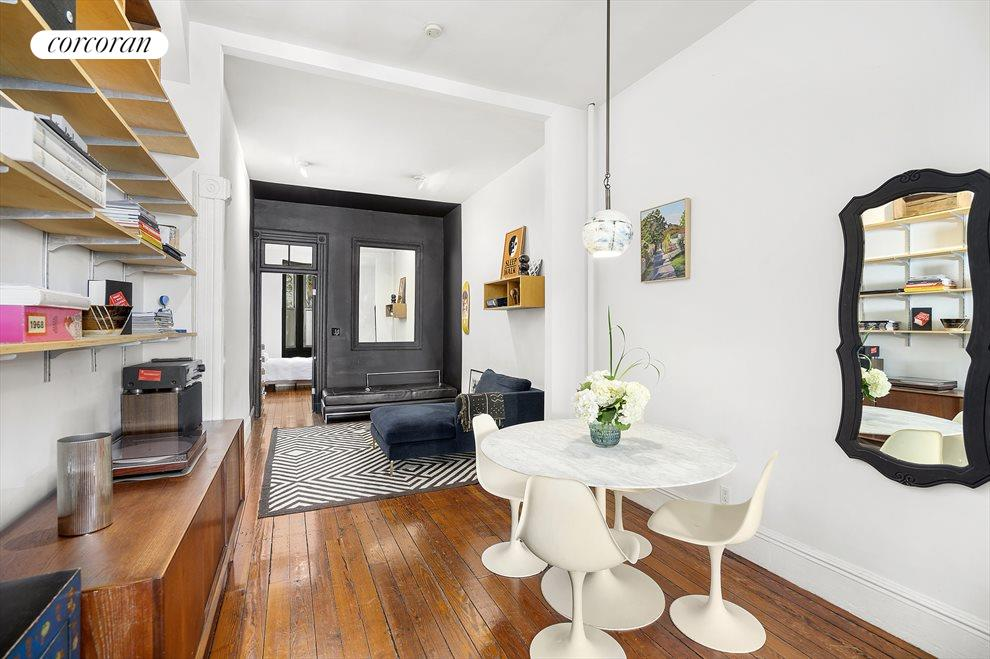 New York City Real Estate | View 100 Newel Street, #1L | Dining Room Area