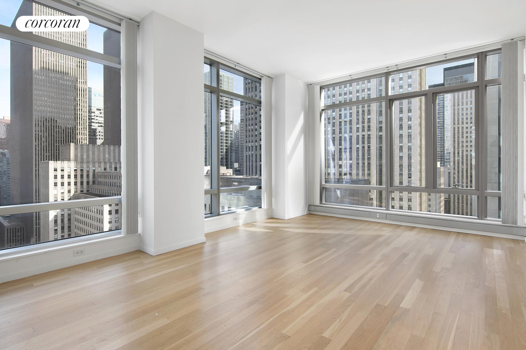 18 West 48th Street, 22E, Living Room