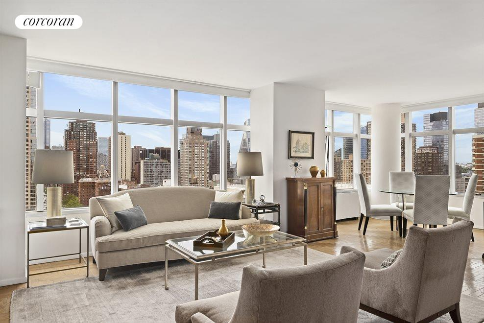 New York City Real Estate | View 160 West 66th Street, #19J | 1 Bed, 1.5 Baths
