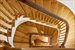 121 East 38th Street, Dramatic curved staircase