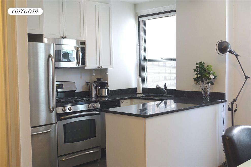 New York City Real Estate | View 162 West 56th Street, #1206 | renovated kitchen